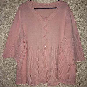 Pink Plus Cardigan